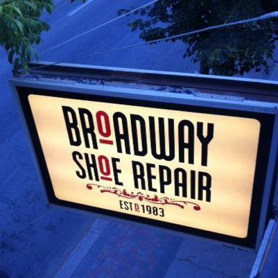 Broadway Shoe Repair Logo