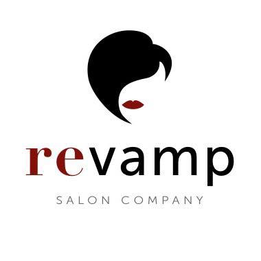 Revamp Salon Company Logo